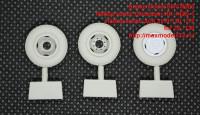 SMCM006   Набор колес Омскшин ИН-142Б-1 Набор колес для ЗИЛ-130 1/72  for ZIL-130 (attach2 42249)