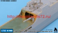 TetraSE-70030   1/700 PLA Navy Type 071  Detail-up Set (for Trumpeter) (attach7 47966)