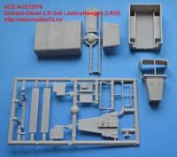 ACE72578   Einheits-Diesel 2,5t 6×6 Lastkraftwagen (LKW) (attach1 42565)