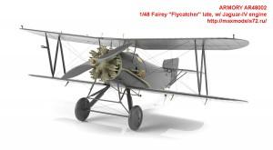 "AR48002   1/48 Fairey ""Flycatcher"" late, w/ Jaguar-IV engine (attach2 43349)"