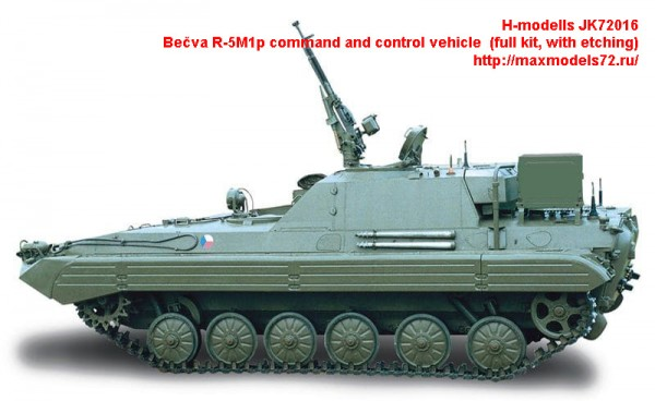 JK72016   Becva R-5M1p command and control vehicle  (full kit, with etching) (thumb43530)