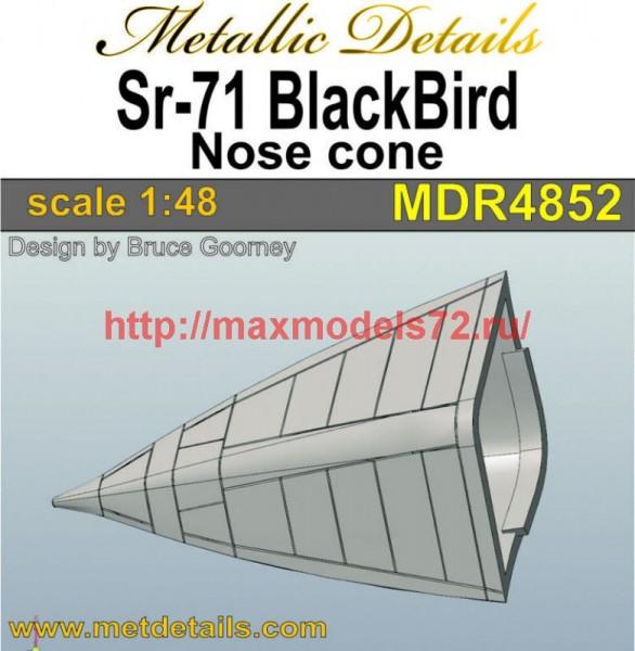 MDR4852   SR-71A Blackbird. Nose cone (Italeri) (thumb47339)