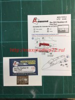 A-squared72014   Su-33 gun port (photoetched detailing set) for Zvezda kit (attach3 45776)