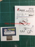 A-squared72016   Su-34 gun port (photoetched detailing set) for Trumpeter kit (attach3 45784)