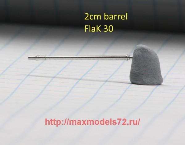 DB72093   20мм ствол зенитной пушки FlaK 30 (thumb43270)