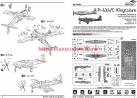 DW14401   Bell P-63A/C Kingcobra (2 in 1) (attach1 43377)