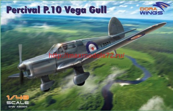 DW48005   Percival P.10 Vega Gull (military service) (thumb43420)