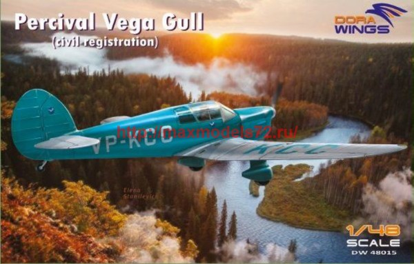 DW48015   Percival Vega Gull (civil registration) (thumb43424)