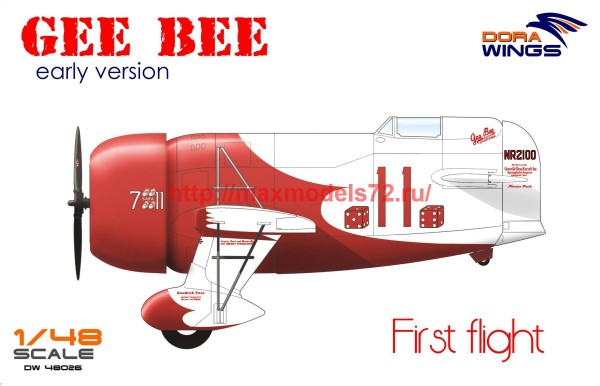 DW48026   Gee Bee Super Sportster R-1 (early version) (thumb43448)