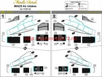 MD7211   MiG-25. Air intakes (attach3 45884)