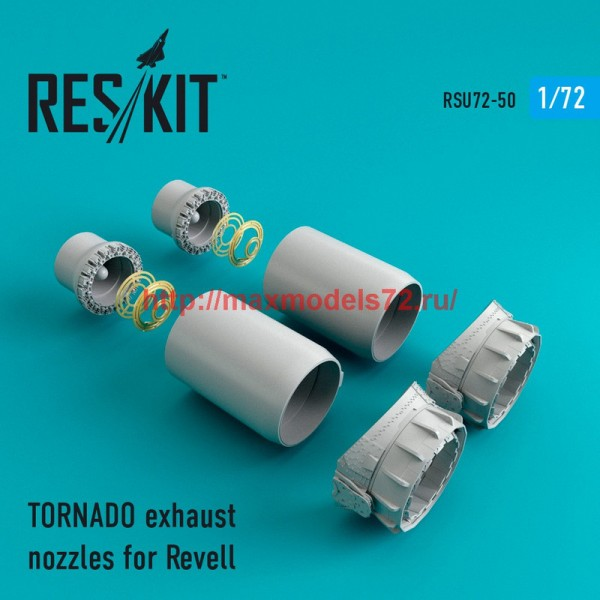 RSU72-0050   TORNADO exhaust nozzles for Revell (thumb43893)