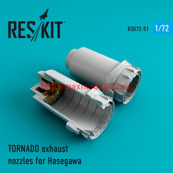 RSU72-0051   TORNADO exhaust nozzles for Hasegawa (thumb43896)