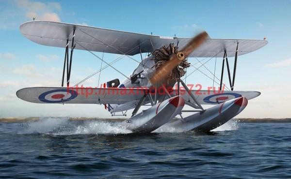 AR48004   1/48 Fairey Flycatcher British Interwar FAA Floatplane Fighter, Late (Metal) (thumb52608)