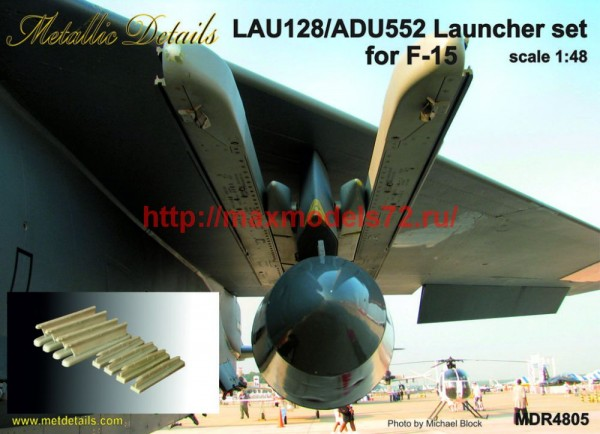 MDR4805   LAU-128/ADU-552 Launcher set for F-15 (thumb47028)