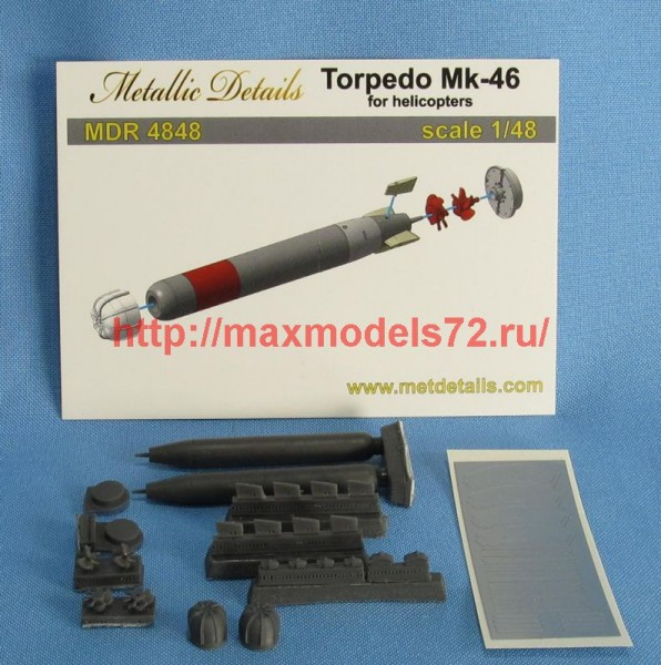MDR4848   Torpedo Mk-46 for helicopters (thumb47315)