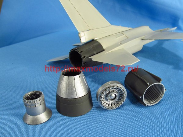 MDR4863   F-16. Jet nozzle for engine F110 (closed) (Tamiya) (thumb48836)