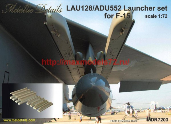 MDR7203   LAU-128/ADU-552 Launcher set for F-15 (thumb45957)