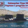 OKBN700131   Submarine Type 209/1100, Neptune I program overhaul (thumb48394)
