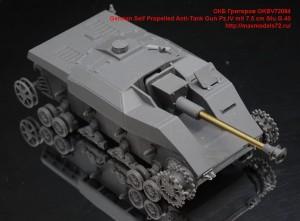 OKBV72084   German Self Propelled Anti-Tank Gun Pz.IV mit 7.5 cm Stu.G.40 (attach7 49027)