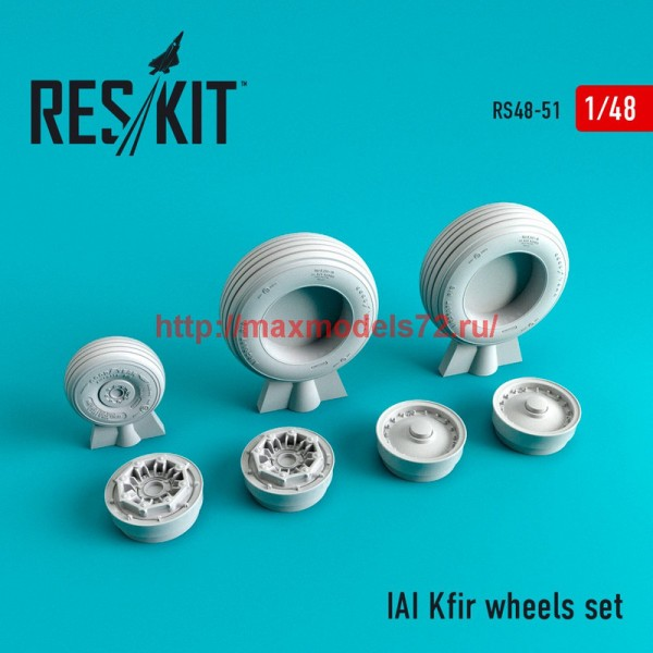 RS48-0051   IAI Kfir wheels set (thumb44696)