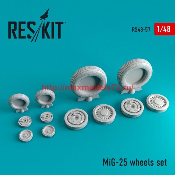 RS48-0057   MiG-25 wheels set (thumb44708)