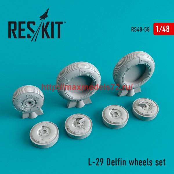RS48-0058   L-29 wheels set (thumb44710)