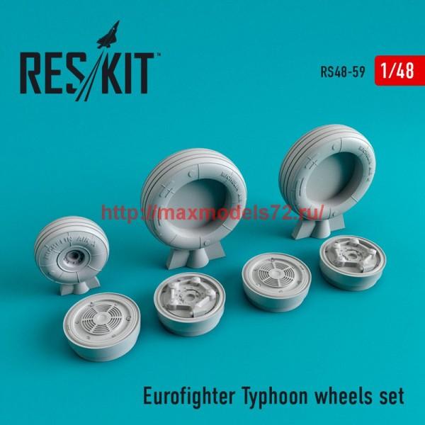 RS48-0059   Eurofighter Typhoon wheels set (thumb44712)