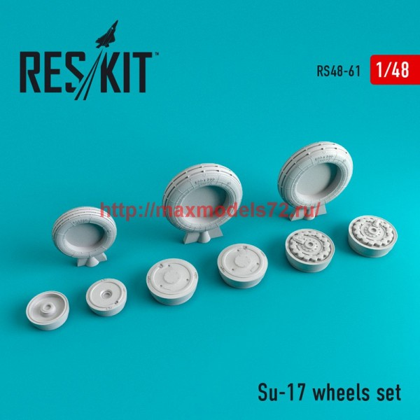 RS48-0061   Su-17  wheels set (thumb44716)
