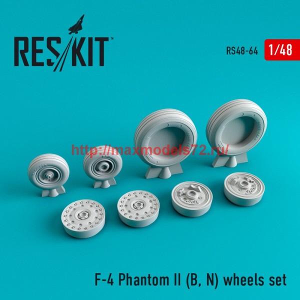 RS48-0064   F-4 Phantom II (B, N) wheels set (thumb44722)
