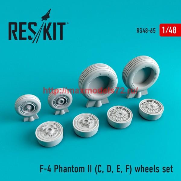 RS48-0065   F-4 Phantom II (C, D, E, F) wheels set (thumb44724)
