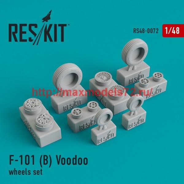 RS48-0072   McDonnell F-101 (B) Voodoo wheels set (thumb44738)
