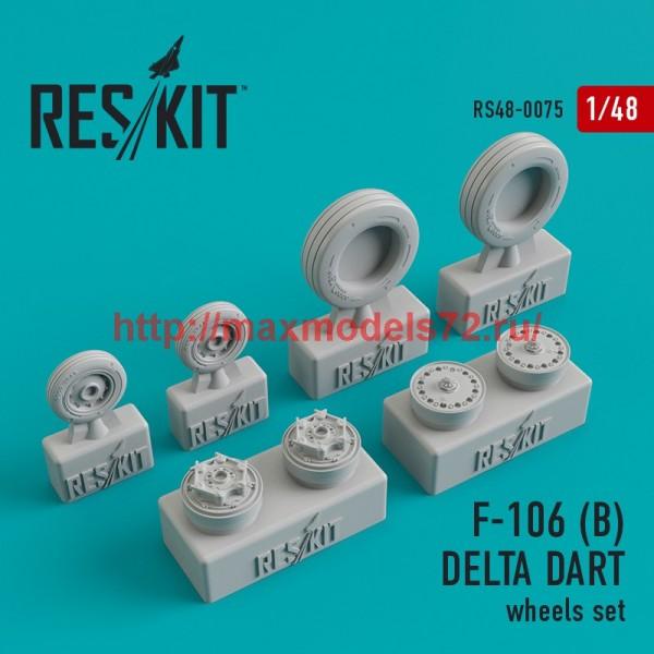 RS48-0075   Convair F-106 (B) Delta Dart wheels set (thumb44744)
