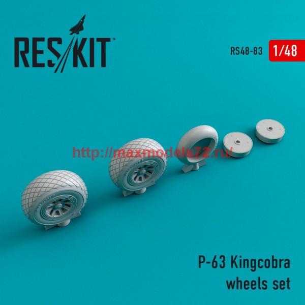 RS48-0083   P-63 Kingcobra wheels set (thumb44758)