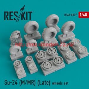 RS48-0097   Su-24 (M/MR) (Late) wheels set (thumb44788)