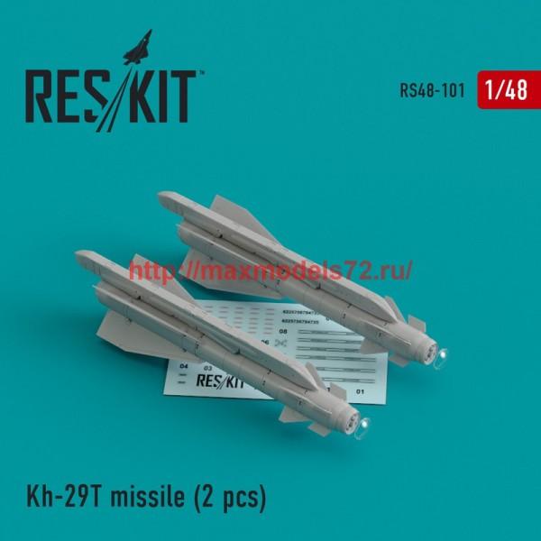 """RS48-0101   Kh-29T (AS-14B """"Kedge) missile (2 pcs)   Su-17, Su-25,Su-24, Su-34, Su-30, Su-39, Mig-27, Yak-130, Mirage F.1 (thumb44796)"""