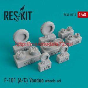 RS48-0112   McDonnell F-101 (A/C) Voodoo wheels set (thumb44820)