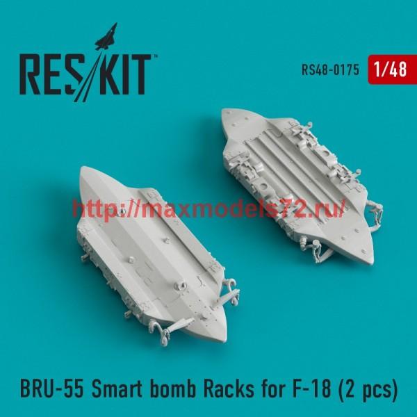 RS48-0175   BRU-55 Smart bomb Racks for F-18 (2 pcs) (thumb44941)
