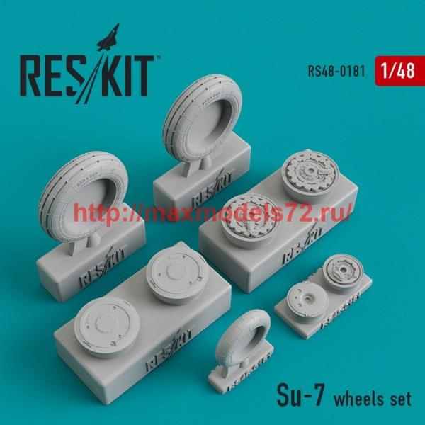 RS48-0181   Su-7  wheels set (thumb44945)