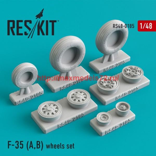RS48-0185   F-35 (A,B) wheels set (thumb44949)