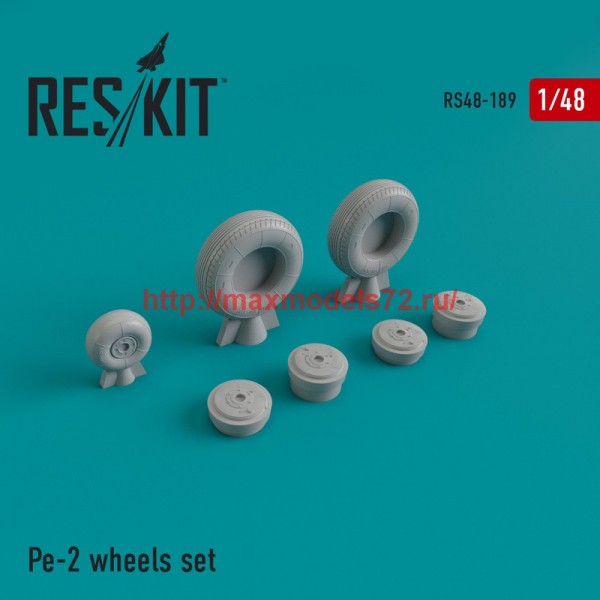 RS48-0189   Pe-2 wheels set (thumb44957)