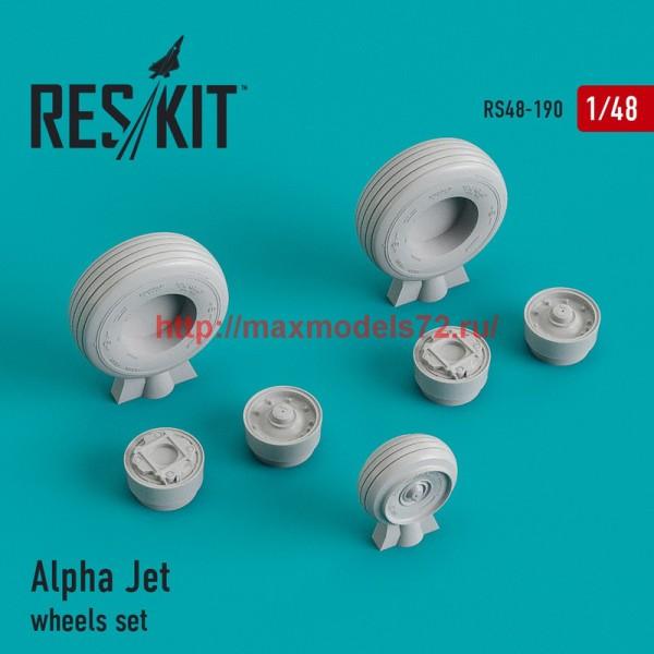 RS48-0190   Alpha Jet wheels set (thumb44959)