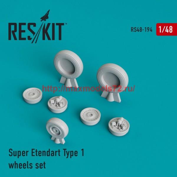 RS48-0194   Super Etendard Type 1 wheels set (thumb44967)