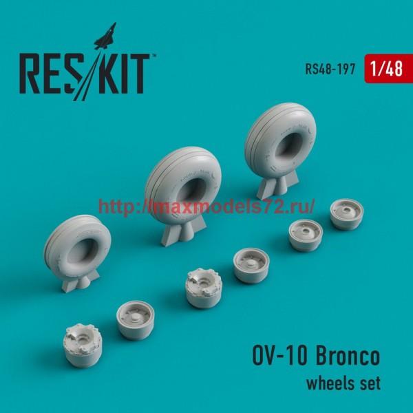 RS48-0197   OV-10 Bronco wheels set (thumb44971)