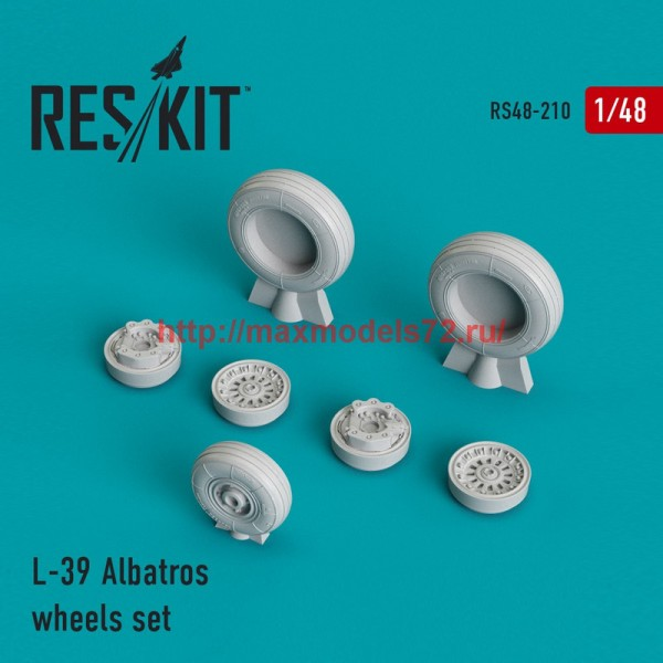 RS48-0210   L-39 Albatros wheels set (thumb44997)