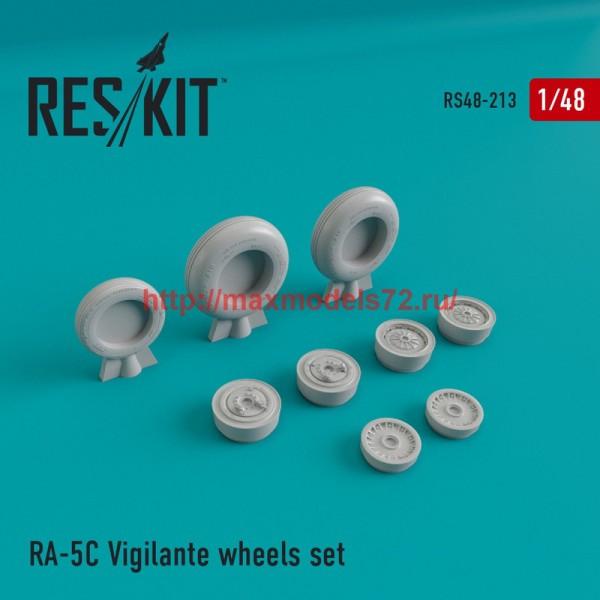 RS48-0213   RA-5 Vigilante wheels set (thumb45005)