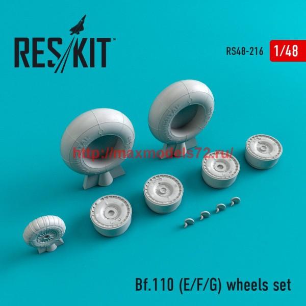 RS48-0216   Bf.110 (E/F/G)  wheels set (thumb45009)