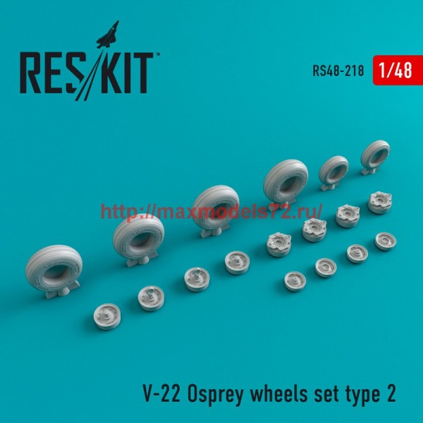 RS48-0218   V-22 Osprey Type 2 wheels set (thumb45013)