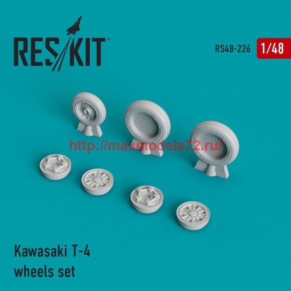 RS48-0226   Kawasaki T-4 wheels set (thumb45029)