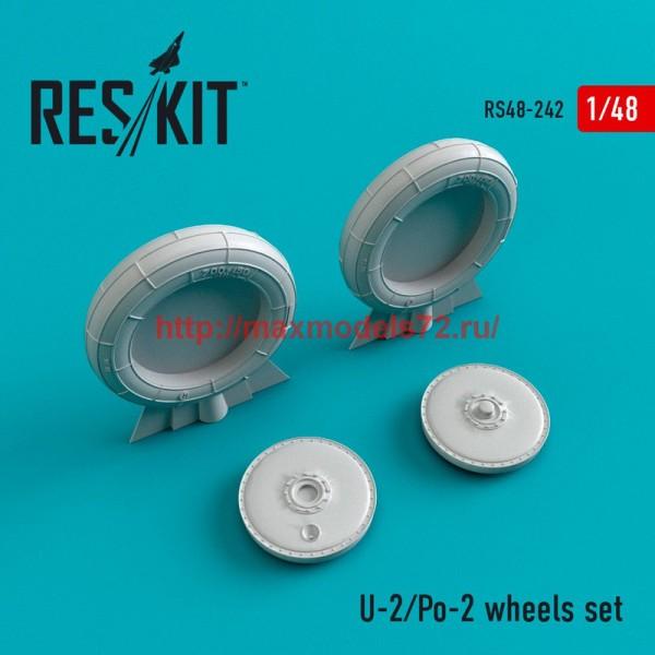 RS48-0242   U-2/Po-2 wheels set (thumb45039)