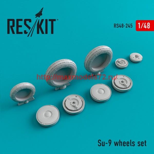 RS48-0245   Su-9 wheels set (thumb45041)